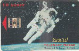 ICELAND(chip) - Astronaut, Telekort Norge(Phonecard Collectors Service), Tirage 1000, Mint