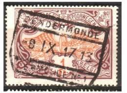 Mz-111  Ocb TR  41   DENDERMONDE - 1895-1913