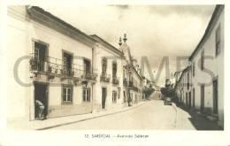 PORTUGAL - SARDOAL - AVENIDA SALAZAR - 60S REAL PHOTO PC. - Santarem