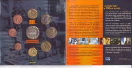 Belgio-2003-Divisionale Euro 8 Valori + Medaglia Televisione-Belge-Belgique-Belgium - Bélgica