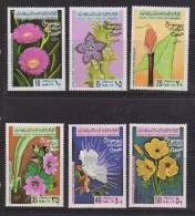 Libya 1979 Flora Flower Set 6 MNH - Libya
