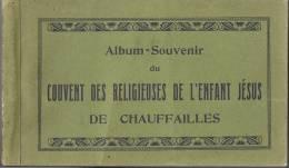 CHAUFFAILLLES-ALBUM SOUVENIR DU COUVENT DES RELIGIEUSES DE L'ENFANT JESUS 12 CARTES - France