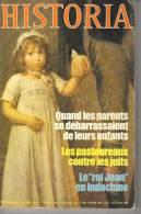 """HISTORIA N° 410 - Janvier 1981 - """"Quand Les Parents Se Débarrassaient De Leurs Enfants"""" - """"Les Pastoureaux ..."""" - Histoire"""