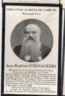 ( B6) ° KASTERLEE 1848 + LEUVEN 1912 E.P.JEAN BAPT.STEENACKERS: MONGOLIE/SHANGAI/PROF. TE GENT LUIK EN BRUSSEL.. - Images Religieuses