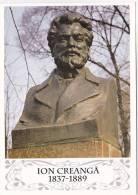 Moldova ; Moldavie ; Moldau ; Pre-paid Postcard ; 2009  ; Chisinau ; Bust ; I.Creanga ; Writer - Moldova