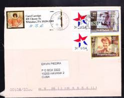 O) 2003 UNITED STATES, CAROL LASSIGE, IDA M. TARBELL, MARGUERITE HIGGINS, COVER TO CUBA. - Otros