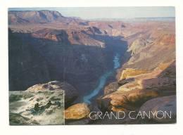 Cp, Etats-Unis, Grand Canyon National Park, Voyagée (non Oblitérée) - Grand Canyon