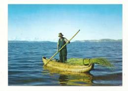 Cp, Pérou, Puno, Tortora Boats In Titicaca Lake, écrite - Pérou