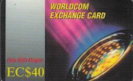 DOMINICA - MCI Prepaid Card EC$40, Used - Dominica