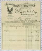 Gants De Peaux F. Gaday à Grenoble, Dpt 38, Ref Perso 804 - Kleding & Textiel
