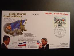 PRESIDENT SERBIE MONTENEGRO CONSEIL DE L´EUROPE EUROPA PARLAMENT NUMEROTE TIRAGE LIMITE  COUNCIL OF EUROPE - Serbia