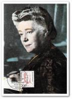 Germany Maxi Card, Austrian Novelist, Bertha Von Suttner, 1st Woman Nobel Peace Prize Laureate, Bertha Von Suttner Nobel - Medicina