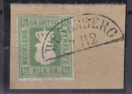 Mecklenburg-Strelitz  Mi.-Nr.  2a O/used  (e0179) Segmentstempel Wesenberg ? - Mecklenburg-Strelitz