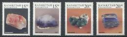 102 KAZAKHSTAN 1997 - Mineraux - Neuf Sans Charniere (Yvert 158/61) - Kazajstán