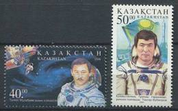 102 KAZAKHSTAN 1999 - Espace Portait Cosmonaute  - Neuf Sans Charniere (Yvert 232/33) - Kazakhstan