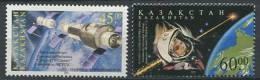 102 KAZAKHSTAN 2001 - Espace Soyouz II Youri Gagarine - Neuf Sans Charniere (Yvert 270/71) - Kazakhstan
