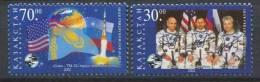 102 KAZAKHSTAN 2002 - Espace Cosmonaute Drapeau - Neuf Sans Charniere (Yvert 311/12) - Kazakhstan