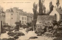 CPA - Pont Aven - Les Moulins Du Port - Vue Générale - Pont Aven