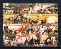 Barbuda 1976 200 Jahre USA Mi.Nr. 249/60 Kpl. Satz ** - Antigua Und Barbuda (1981-...)