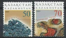 102 KAZAKHSTAN 2005 - Mineraux - Neuf Sans Charniere (Yvert 430/31) - Kazakhstan