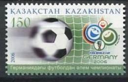 102 KAZAKHSTAN 2006 - Coupe Du Monde Football Allemagne Ballon - Neuf Sans Charniere (Yvert 459) - Kazakhstan