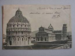Pi1097)  Ricordo Di Pisa - Battistero E Duomo - Pisa