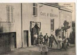 Eulmont  54  Entrée Du Village Café Burgunter - Autres Communes