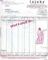 01 -  BELLEGARDE - FACTURE LEJABY- LINGERIE  RUE JEAN JAURES - 1939 - France
