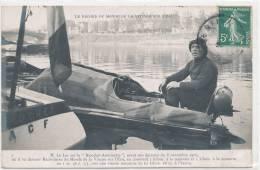 SPORT )) RECORD DU MONDE DE VITESSE SUR L EAU   Mr LE BAS Sur Le RICOCHET ANTOINETTE Novembre 1907 - Otros