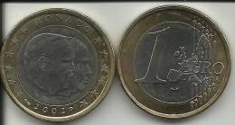 1 EURO MONACO 2002 état Neuf. - Monaco