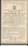 ( B43) ° BORGERHOUT 1844 + BEIRENDRECHT 1902 E.H.JOANNES BLOX LKR.ST.ROMBOUTS MECHELEN/PASTOR RAMSDONK/BERENDRECHT.. - Images Religieuses