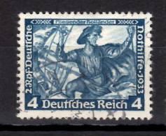 Germany Semi Postal 1933 4 + 2pf  Der Fliegends Hollander Issue  #B50 - Germania