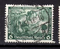 Germany Semi Postal 1933 6 + 4pf  Die Meistersinger Issue  #B52 - Germania
