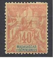 MADAGASCAR TYPE GROUPE   N� 37 NEUF*