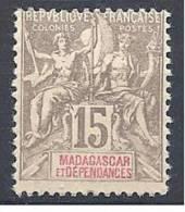 MADAGASCAR TYPE GROUPE   N� 44 NEUF* TB
