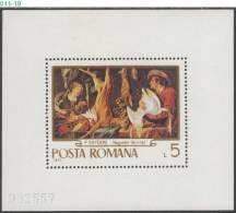 ROMANIA, 1970, Paintings, Hunting,  MNH (**), Sc/Mi 2198-03 / 2876-81 - Arte