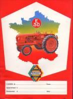 Protège Cahier - Tracteur RENAULT E 30 - Motoculture - Blotters