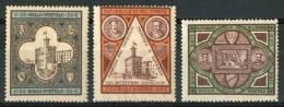 1894 S.Marino Palazzo Del Governo Serie Completa Senza Linguella MNH** -2 Scans - San Marino