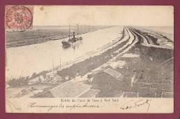 EGYPTE - 070113 - PORT SAID - Entrée Du Canal De Suez - Port-Saïd