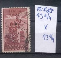 AVION SURVOLANT OLIVIER ET CLOCHER - DENTADO FUERA DE CATALOGO - FILIGRANE ETOILE MULTIPLE DENTELE  13,25 X 13,25 RARISI - 6. 1946-.. Republic