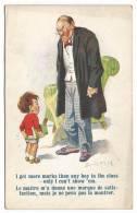 218. (2) Donald McGill Comic Postcards, Vintage - Mc Gill, Donald