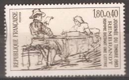 FR 2258 Journée Du Timbre - Rembrandt  1983 - France