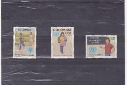 COLOMBIE : Année Internationale De L´enfant  : ** : Y&T : 637 à 639 - Colombie