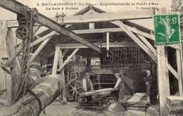 52 CPA DOULAINCOURT EXPLOITATION DE LA FORET D HAU LA SCIE A RUBAN  BOIS METIER - Sonstige Gemeinden