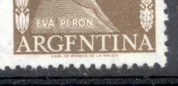 ARGFNTINA POR ARGENTINA CATAOLOGO JALIL 1010 B ERROR - NUEVO SIN GOMA RARISIME EVA PERON EVITA - Argentina