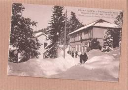 CPA Sports D'hiver à Peira Cava Environs De Nice (animée)  NEIGE SNOW ALPES MARITIMES  CARD 1 - Francia