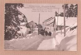 CPA Sports D'hiver à Peira Cava Environs De Nice (animée)  NEIGE SNOW ALPES MARITIMES  CARD 2 - Francia