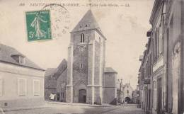 CPA  80 -   SAINT-VALERY-SUR-SOMME - L'Eglise St Martin - Saint Valery Sur Somme