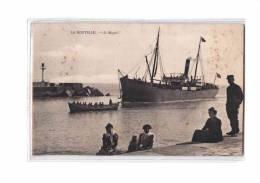 11 PORT LA NOUVELLE Bateau Vapeur Magali, Jetée, Ed Guiter, 1909 - Port La Nouvelle