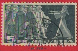 1938 - Europe - Suisse - Diète De Stans - 5 F. Ardoise  - - Svizzera